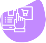 ecommerce white icon