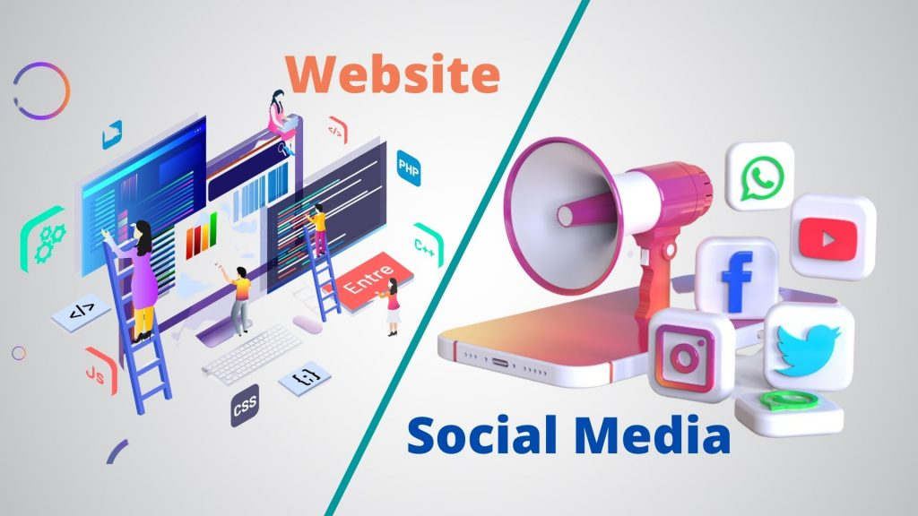 How to Manage Your Website and Social Media Together